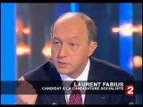 Laurent Fabius répond à David Pujadas