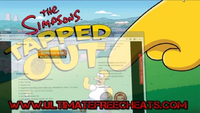 Get Hack Simpsons Tapped Out Game Free - Simpsons Tapped Out Donutss Cheats