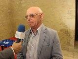 INTERVISTA AL SINDACO ROSARIO MANGANELLA NELLA PRESENTAZIONE DELLE RAGAZZE FREE VOLLEY DI FAVARA AL CASTELLO CHIARAMONTE 05/10/2013