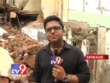 Two storey building collapses in Kalupur,no casualties reported , Ahmedabad - Tv9 Gujarat