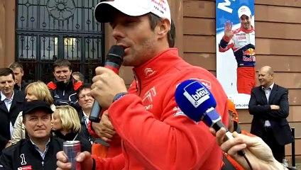 Rallye de France 2013 : les adieux de Loeb à Haguenau, le 6 octobre