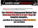 Covert Cash Conspiracy - Money Making Sites