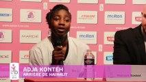 OPEN LFB 2013 - Hainaut Basket / Nantes Rezé - Les réactions