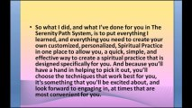 http://www.Enlightement.com Create Your Customized Spiritual Path, The Serenity Path