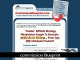 Commission Blueprint Review - affiliate marketing clickbank tips