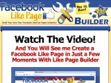 Like Page Builder | Build Your Very Own Facebook Like/fan Pages Instantly