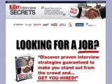 Killer Interview Secrets  75% Commission! Bonus
