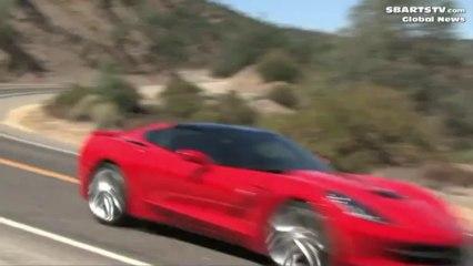 New Corvette Aggressive Driving