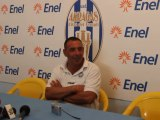 Conferenza stampa dopo Akragas vs Compr. Montalto con l'allenatore Riccardo Petrucci  ex giocatore dell' AKRAGAS .