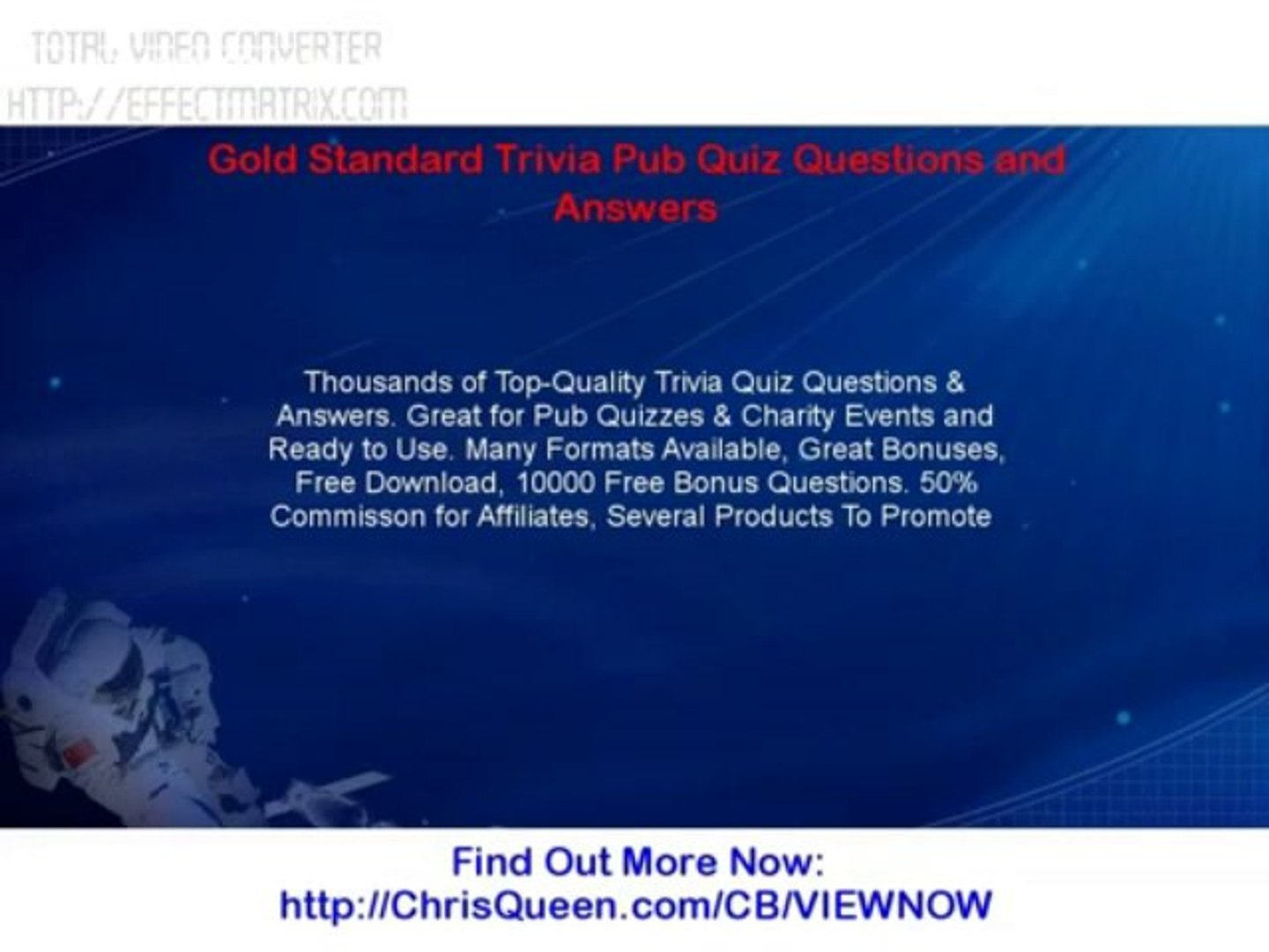 Gold Standard Trivia Pub Quiz Questions And Answers