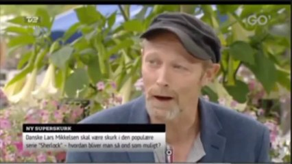 """Lars Mikkelsen in """"Go'aften Danmark"""""""