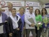 Jean-Jacques Bourdin et Fanny Agostini au 2e Open de pétanque - 07/10