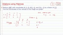 How to Dilate Figures Using Matrices - Learn Fun With Figures