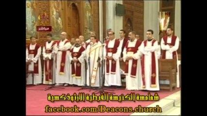 La prière des défunts du 6 octobre 2013 mentionne Anba Samouïl, l'évêque tué lors de l'attaque contre el-Sadate le 6 octobre 1981