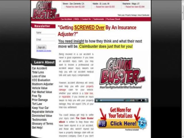 About Car Accident Help Book
