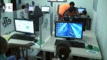 Niños de la Boquilla en Cartagena aprenden a hacer páginas Web