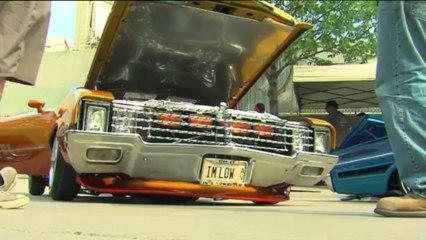 """Los coches """"lowrider"""" triunfan en Chicago"""
