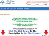 Blue Heron Health News Blood Pressure Exercise Program Reviews + DISCOUNT + BONUS