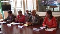 Signature du protocole relatif au financement des équipements centraux et de services du Center Parcs Vienne-Grand Ouest