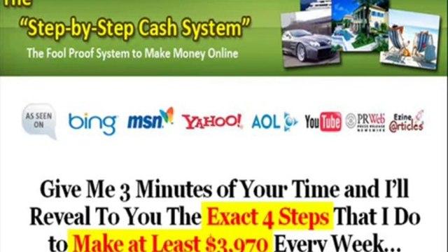 Step By Step Cash System Review & Step By Step Cash System Facts About stepbystepcashsystem.com