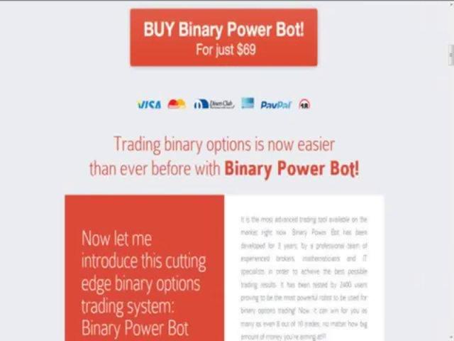 Binary Power Bot — Cutting edge Trading Autopilot! WebSite