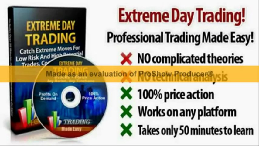 Extreme Day Trading FREE Download