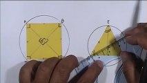 angles inscrits et angles au centre (3ème)