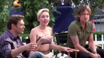 Miley Cyrus -- We Did Stop Live At SNL 2013 - Parody of We Can't Stop -- Saturday Night Live