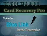 Card Recovery Pro - SmartMedia, flash card recovery