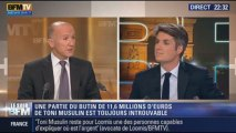 Le soir BFM : Toni Musulin, l'ex-convoyeur de fonds, libéré - 02/10 1/4