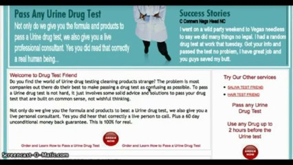 Drug Test Resource | Learn About, Share and Discuss Drug