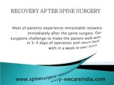 Paramount Spine Surgery in India by top Spine Surgeon at best Spine surgery Hospital in India.