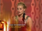 Reese Witherspoon Wins Best Actress Motion Picture Musical or Comedy - Golden Globes 2006