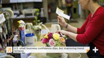 U.S. Small Business Confidence Dips, But Improving Trend Remains