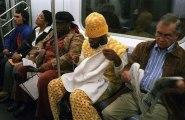 Tous ces gens un peu bizarres qu'on croise dans le métro