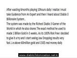 Beginners way to Diablo 3 Gold - Diablo 3 Billionaire system - 100million gold daily method