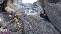 Traversée Charmoz-Grépon Aiguilles de Chamonix Mont-Blanc