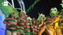 Mangueira and Beija-Flor shine at Rio de Janeiro carnival