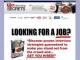 Killer Interview Secrets 75% Commission Shareware Download
