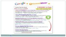Keyword Winner 2.0 Review Best Wordpress SEO Plugin v2.0 Video 2011