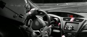 La nouvelle Honda Civic Type R est dans son élément