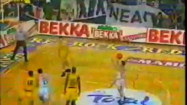 PAOK - ARIS 80 - 63 (Final Four 95 Kypello Ellados)