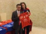 Presentata la Free Volley - La  Sistet Free Volley di Favara si è presentata alla città al C  astello  CHIARAMONTE di Favara SABATO 05/10//2013.  La giocatrice EMANUELA SCALIA che torna dopo la parentesi nell' AKRAGAS VOLLEY. Lei ha scelto il N° 8 che è