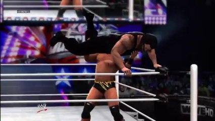 Xbox 360 - WWE 13 - WWE Universe - April Week 1 Superstars - Curtis Axel vs Roman Reigns