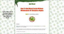 Quit Weed Review - Don't Buy The Quit Weed E-Book Until You Watch This Review!