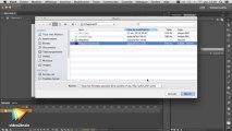 Tutoriel Flash CC : Gestion des fichiers dans Flash CC | video2brain.com