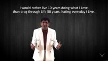 Life in just a minute RVM 72 Don't just add years to Life, rather add LIFE to years