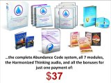 The Abundance Code - Manifesting your desires with ease.