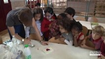 Rythmes éducatifs : atelier petites expériences scientifiques à l'école Buffon - Paris 5e