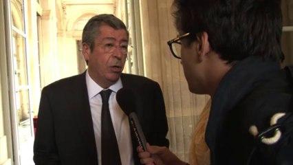Paris (France) 01/10/2013 Balkany et les roms
